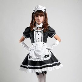 COCONEEN-Womens-Anime-Cosplay-French-Apron-Maid-Fancy-Dress-Costume-0-0
