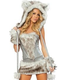 COMVIP-Halloween-Hairy-Wolf-Cat-Cosplay-Sexy-Animal-Costume-0