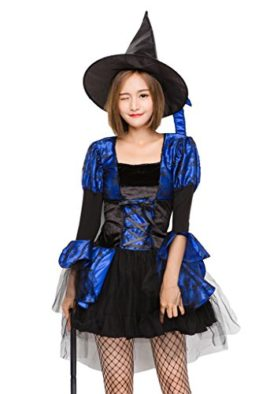 COMVIP-Halloween-Witch-Cosplay-Corset-Dress-3-Pieces-Costumes-Blue-0-0