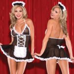 CZXING-Sexy-Maid-Dress-Skirt-Transparent-Gauze-Babydoll-Lingerie-Plus-Size-0-2