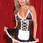 CZXING-Sexy-Maid-Dress-Skirt-Transparent-Gauze-Babydoll-Lingerie-Plus-Size-0-3