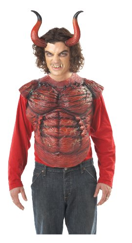 California Costumes Men's Hellion Horns W/Teeth Costume Accessory