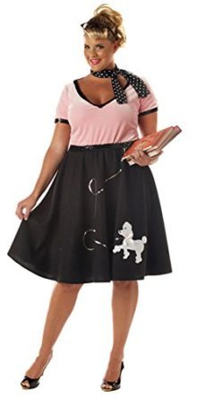 California-Costumes-Womens-50s-Sweetheart-Poodle-School-Girl-Plus-Size-XXL-Pink-And-Black-0