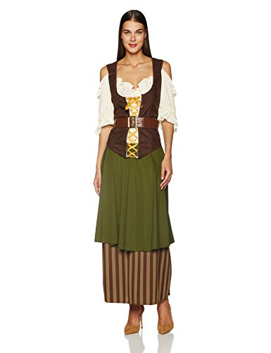 California Costumes Women's Plus Size Tavern Maiden Costume