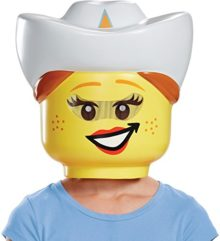 Childs-Girls-LEGO-Iconic-Characters-Cowgirl-Mask-Costume-Accessory-0