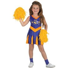 Childs-Kim-Possible-Cheerleader-Halloween-Costume-Size-Large-7-8-0