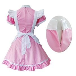 Colorful-House-Womens-Cosplay-Cat-Ear-French-Apron-Maid-Fancy-Dress-Costume-0-1