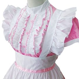 Colorful-House-Womens-Cosplay-Cat-Ear-French-Apron-Maid-Fancy-Dress-Costume-0-3