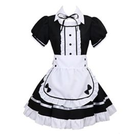 Colorful-House-Womens-Cosplay-French-Apron-Maid-Fancy-Dress-Costume-0
