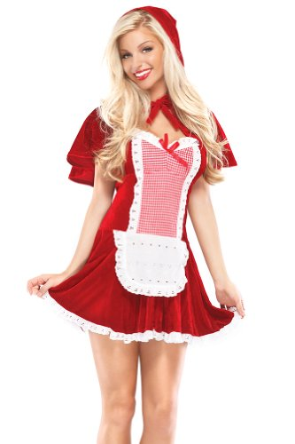 Coquette Women's Sexy Riding Hood Adult Costume