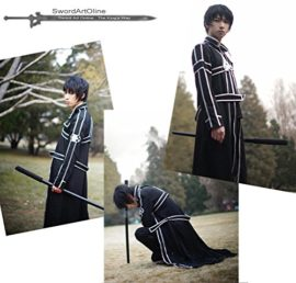 Cos2be-SAO-Anime-Sword-Art-Online-Kirito-Cosplay-Costume-0-2