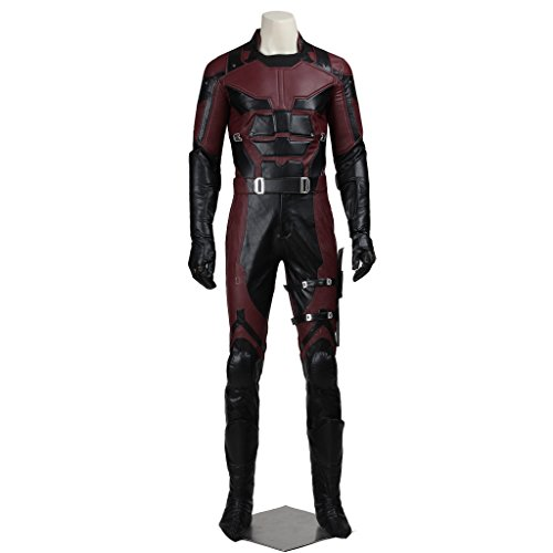 CosplayDiy Men's Costume Suit for Daredevil Superhero Cosplay