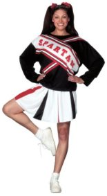 Costumes-For-All-Occasions-FW100174-Cheerleader-Spartan-Girl-0