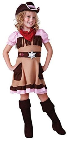 Cowgirl-Cutie-Wild-West-Girls-Childs-Fancy-Dress-Costume-L-146cms-by-Parties-Unwrapped-0