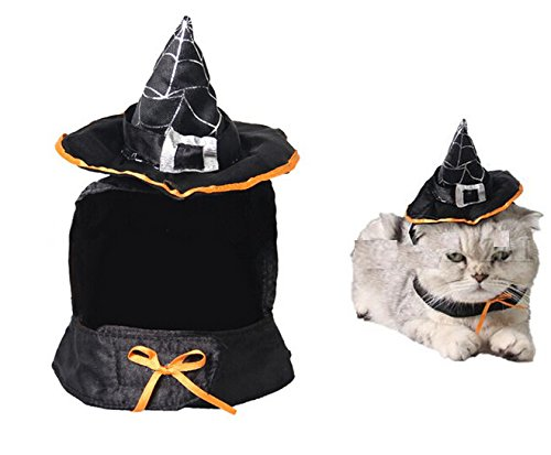 Cute-Hooded-Cloak-Witch-Wizard-Halloween-Costume-for-Small-Dogs-Cat-Kitten-Cat-Costume-0