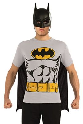 DC-Comics-Batman-T-Shirt-With-Cape-And-Mask-0
