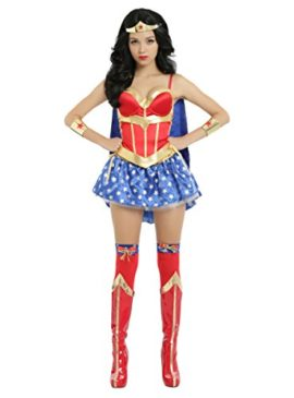 DC-Comics-Wonder-Woman-Lace-Up-Corset-With-Detachable-Cape-0-0