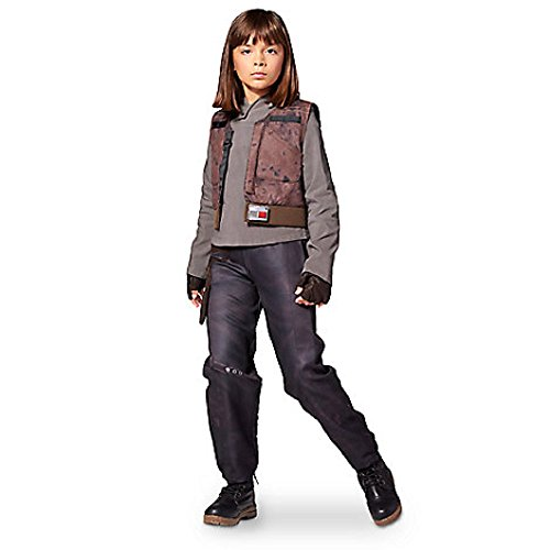 DISNEY STORE STAR WARS ROGUE ONE SGT JYN ERSO COSTUME ~ GIRLS