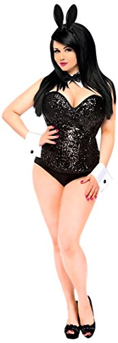 Daisy-Corsets-Womens-Top-Drawer-4-Piece-Sequin-Cocktail-Bunny-Costume-0