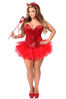 Daisy-Corsets-Womens-Top-Drawer-4-Piece-Sexy-Devil-Corset-Costume-0