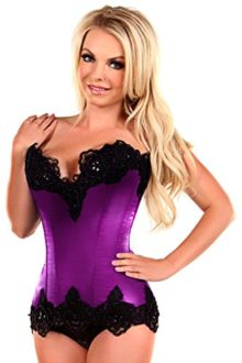 Daisy-Corsets-Womens-Top-Drawer-Steel-Boned-Satin-and-Lace-Beaded-Corset-0