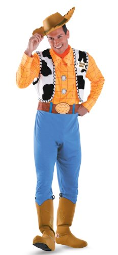Deluxe Woody Costume Adult Toy Story Costume 50550