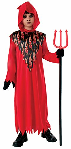 Devil Hooded Child Costume, Small