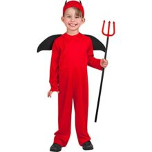 Disguise-Costumes-childs-toddler-little-devil-halloween-costume-3-4t-Red-0
