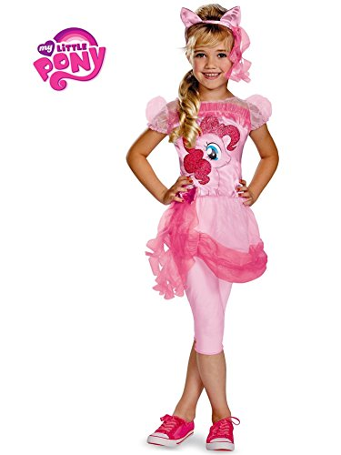 Disguise Hasbro's My Lil' Pony Pinkie Pie Classic Girls Costume