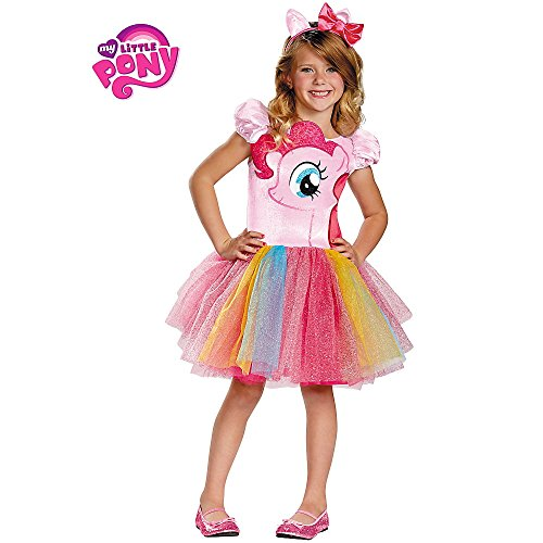 Disguise Hasbro's My Lil' Pony Pinkie Pie Tutu Prestige Girls Costume