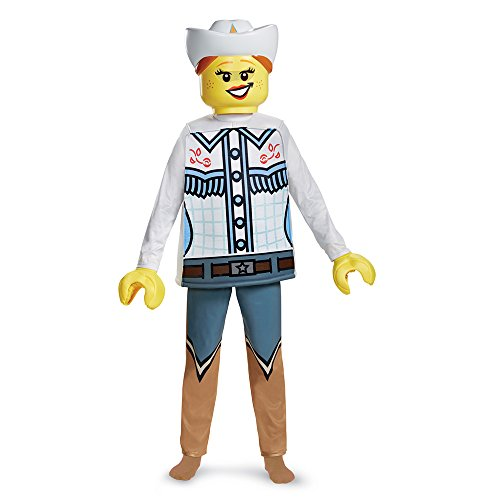 Disguise LEGO Cowgirl Deluxe Costume