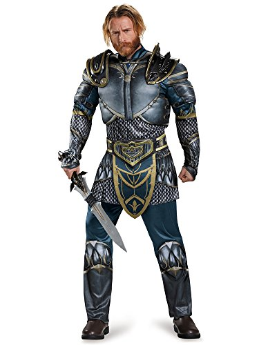 Disguise Men's Warcraft Lothar Muscle Costume