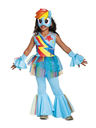 Disguise Rainbow Dash Movie Deluxe Costume