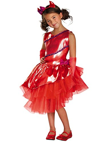 Disguise Tutu'riffic Daring Devil Girls Costume