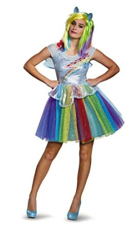 Disguise-Womens-My-Little-Pony-Rainbow-Dash-Deluxe-Costume-0
