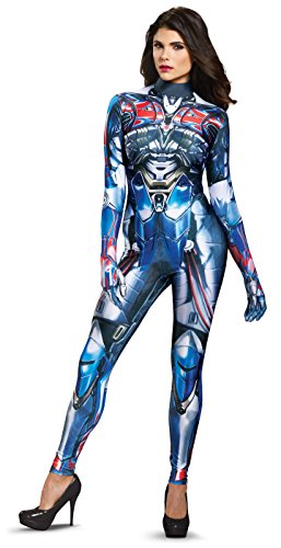 Disguise Women's Optimus Prime Movie Female Bodysuit Costume