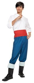 Disneys-Little-Mermaid-Costume-Prince-Eric-Costume-TeenMens-STD-Size-0