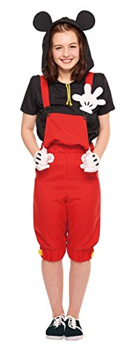 Disneys-Mickey-Mouse-Costume-Casual-Mickey-TeenWomens-STD-Size-0
