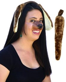 Dog-Ears-Tail-Nose-Costume-Accessories-Kit-0