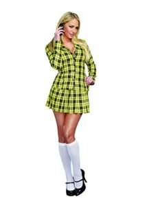 Dreamgirl-Womens-Fancy-Girl-Yellow-Plaid-Clueless-Iggy-Schoolgirl-Costume-0