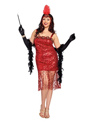 Dreamgirl Women's Plus-Size Ain't She Sweet Costume
