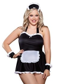Dreamgirl-Womens-Plus-Size-Maid-Me-Dirty-Babydoll-0