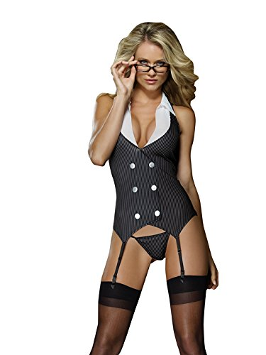 Dreamgirl Women's Working Girl Slip