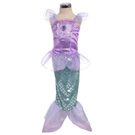 Dressy-Daisy-Girls-Princess-Mermaid-Fairy-Tales-Costume-Cosplay-Fancy-Dress-Party-0