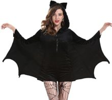 Drlove-Halloween-Women-s-black-Costumes-Batwing-vampire-clothing-Tops-0