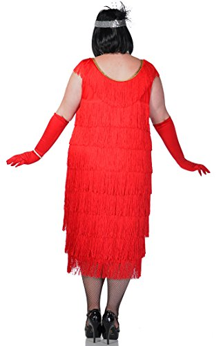 Elevate-Costumes-Plus-Size-Long-Deluxe-Roarin-Red-1920s ...