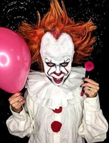 Evil-Clown-Halloween-Makeup-Kit–Professional-Costume-Cosmetics-for-a-Creepy-IT-Inspired-Look–Dress-Up-Like-Pennywise-with-Pro-Quality-Paint-and-Brushes–by-Mehron-0