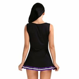 FEESHOW-Women-School-Girls-Musical-Cheerleader-Costume-Uniform-Fancy-Mini-Dress-0-0