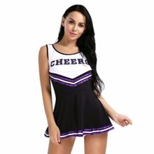 FEESHOW-Women-School-Girls-Musical-Cheerleader-Costume-Uniform-Fancy-Mini-Dress-0