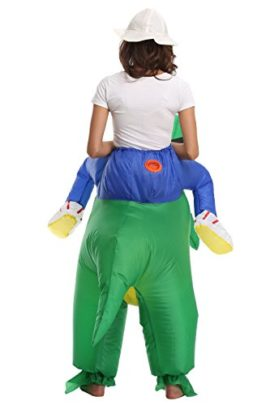 FS-Adult-Child-Inflatable-Rider-Costume-Fancy-Halloween-Cosplay-Blow-Up-Suit-0-0